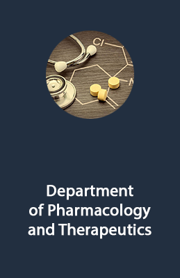 Department of Pharmacology and Therapeutics